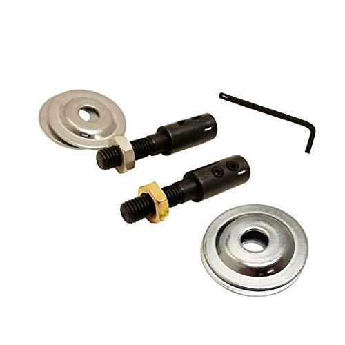 (Flanged Arbor Set For Motor Shafts Motor 8.00 mm motor Shafts-Grinder- Polishing)