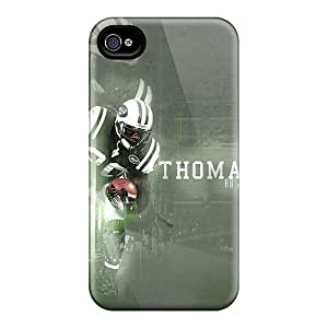 KimberleyBoyes Iphone 4/4s High Quality Hard Phone Cover Provide Private Custom Vivid New York Jets Pictures [iVB14796abKa]