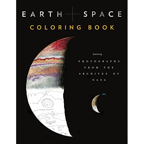 Earth and Space Coloring Book: Featuring Photographs from the Archives of NASA (Colouring Books)
