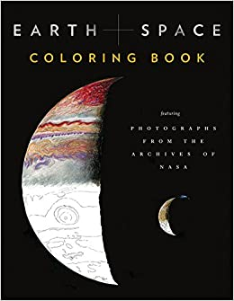 Earth and Space Coloring Book: Featuring Photographs from