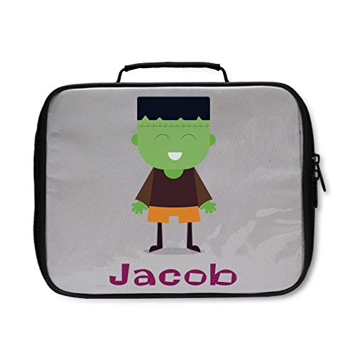 (Custom Personalized Halloween Child Frankenstein Costume Insulated Lunch)
