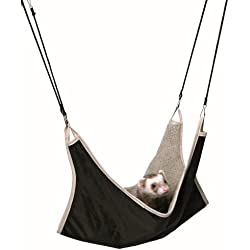 Trixie Pet Products 6913 Hammock for Ferrets, Brown/Beige, 45 x 45cm