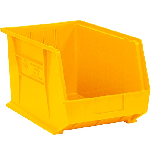 - Aviditi BINP1611Y Plastic Stack and Hang Bin Boxes, 16