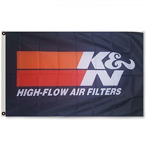 2But K&N High Flow Air Filters Flag Banner 3x5 Feet