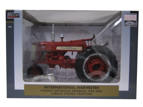 International Harvester Farmall 450 Gas Single Front Tractor 1/16 by Speccast ZJD1711