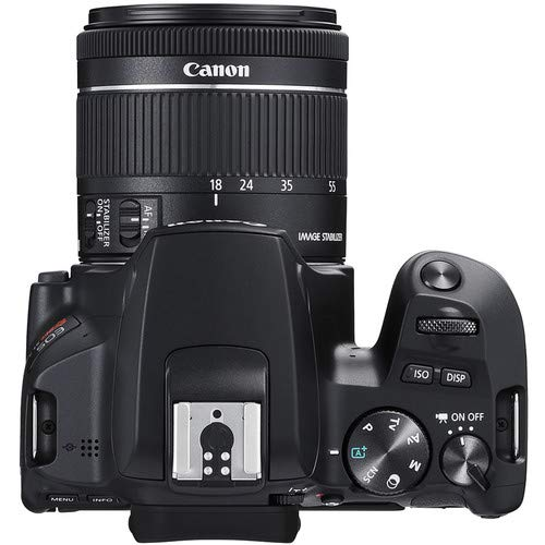 Canon EOS Rebel SL3 DSLR Camera with EF-S 18-55mm f/4-5.6 is STM Lens + 2Pcs 32GB Sandisk SD Memory + Digital Flash…