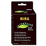 Mina Eyebrow Henna Dark Brown Regular Pack & Tinting Kit For Brow Dye