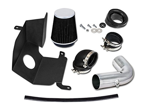 Velocity Intake - Velocity Concepts Black Heat Shield Cold Air Intake Kit + Filter 04-05 Chevrolet Silverado GMC Sierra 2500HD/3500 6.6L V8 Duramax LLY Engine Only