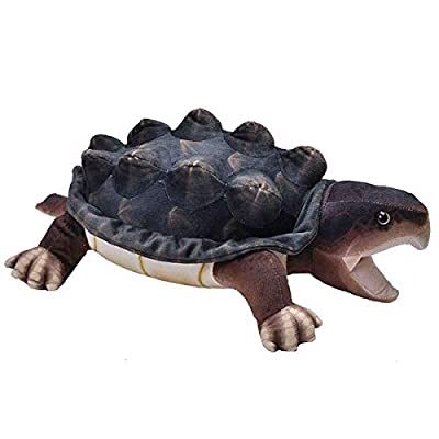 Wild Republic Living Stream Snapping Turtle 24 Inches, Gift for Kids, Plush Toy, Great Novelty Gift for Fishermen and Sportsmen: Toys & Games