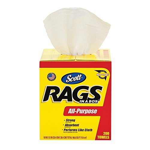 Scott Products 75260 Scott Rags In-A-Box 200 Count