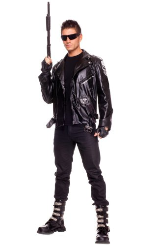 The Terminator Costume for Adults by Music Legs