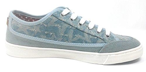 Lacets Bleu Ville Wrangler à Femme Bleu de 41 Chaussures EU pour xAxp1Iw