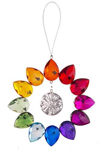 (Ganz Round Rainbow Suncatcher Hanging Ornament)