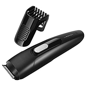Beard Trimmer Hair Clipper – Liberex Professional Cordless Electric Men Facial Mustache Stubble Edger Grooming Kit Trimming Haircuts Shaver with 9 Adjustable Trim Settings, Battery Operated
