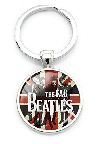 The Beatles FAB 4 Keychain. John Lennon,Paul McCartney,George Harrison, Ringo Star.Perfect for Loyal Fan (Paul Mccartney Itunes Live From Capitol Studios)