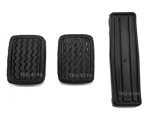 Set Clutch Brake Accelerator Pedal Pad Cover Nissan 720/Datsun 720 Pickup 1980-1986
