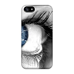 Durable Cases For The Iphone 5/5s- Eco-friendly Retail Packaging(beautiful Blue Eyes)