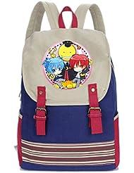 YOYOSHome Anime Ansatsu Kyoushitsu Cosplay Rucksack Messenger Bag Backpack School Bag