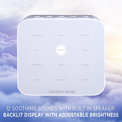 Better Sleep White Noise Sound Machine For Adults And: Sharper Image Best White Noise Sound Machine For Baby Room