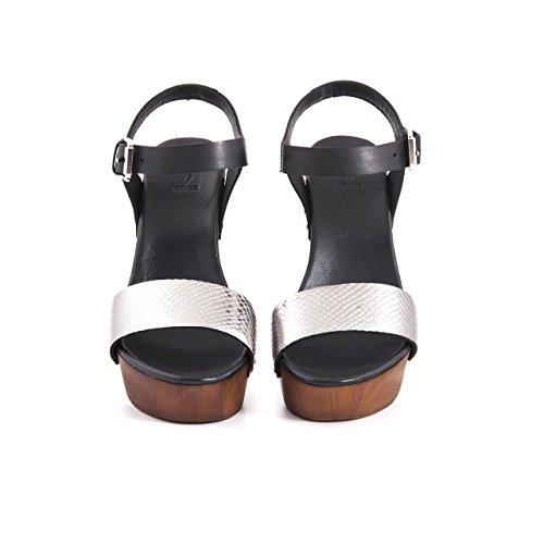Mujer Zapatos Tanca antracita de correa con tobillo OqFwqX