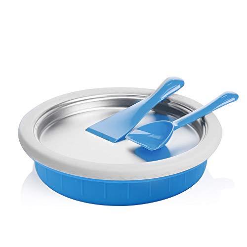 EOSAGA Sweet Spot Instant Ice creamer Maker -Frozen Treats in Minutes Fried Ice Machine for Yogurt, Sorbet, Gelato, Family Fun (Blue)