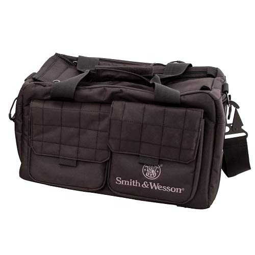 Smith & Wesson M&P Recruit Tactical Range Bag with Weather Resistant Material for Shooting, Range, Storage and Transport