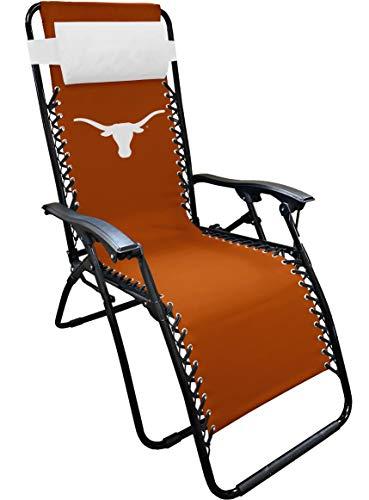 NCAA Texas Zero Gravity Lounger, Multi, One Size