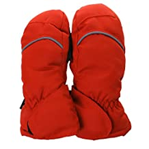 MagiDeal 1Pair Cotton Winter Waterproof Ski Snow Mittens Gloves For Kids Boys Girls XS S M L