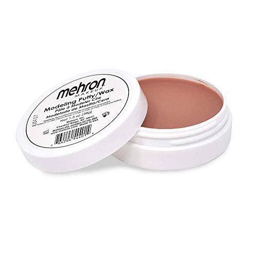 Halloween Wax Scars (Mehron Makeup Professional Modeling Putty/Wax (1.3)