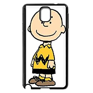 Charlie Brown And Snoopy Samsung Galaxy Note 3 Cell Phone Case Blackxxy002_6830928