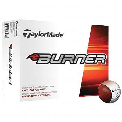 TaylorMade 2014 Burner White Golf Balls 12-Ball Pack