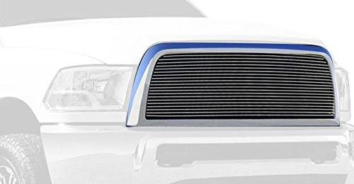 Horizontal Aluminum Polished Finish Billet Grille Insert for Dodge Ram Pickup 2500 3500 (Pickup Polished Billet Insert)