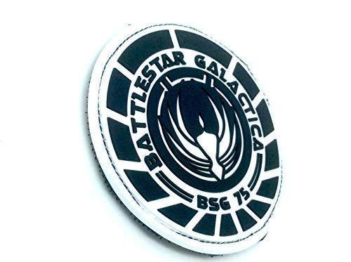 Battlestar Galactica BSG 75 Oficial Airsoft PVC Parche