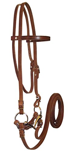 Hamilton Pony Headstall Bridle Set, 5/8-Inch, Brown