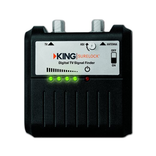 KING SL1000 SureLock Satellite TV Signal Meter (Rv Antennas For Digital Tv Jack)