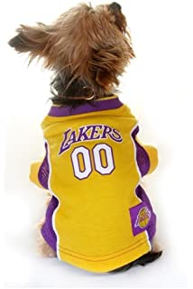 LOS ANGELES LAKERS Dog Jersey ☆ ALL SIZES ☆ Licensed NBA
