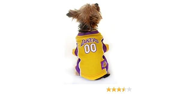 d378155ff8b Amazon.com   LOS ANGELES LAKERS Dog Jersey ☆ ALL SIZES ☆ Licensed NBA  (Small)   Pet Supplies