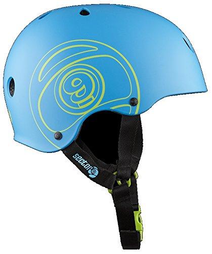Sector 9 Unisex Logic III - CPSC/CE Helmet 16, Blue, S/M -