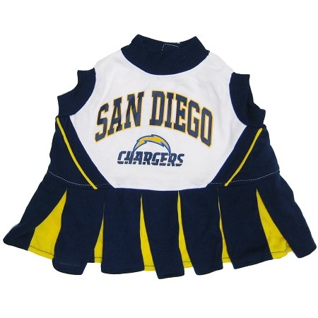 (Pets First San Diego Chargers Pet Cheerleader Uniform Extra Small)