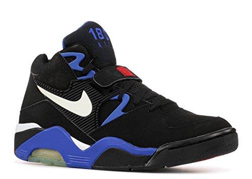 NIKE Air Force 180 Men US 10.5 Black Basketball Shoe