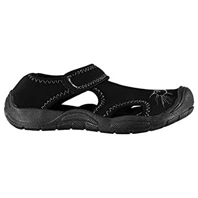 Hot Tuna Kids Junior Sandals Shoes Summer Outdoor Rock Black UK 1 (33)