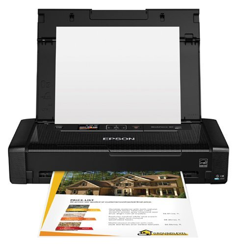 Epson WorkForce WF-100 Wireless Color Mobile Printer (Cer...
