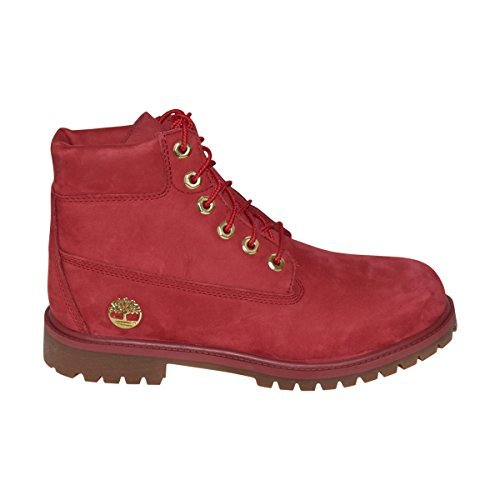 Timberland Junior 6 Premium Boots LIMITED RELEASE (Red, 6 (M) US Junior)