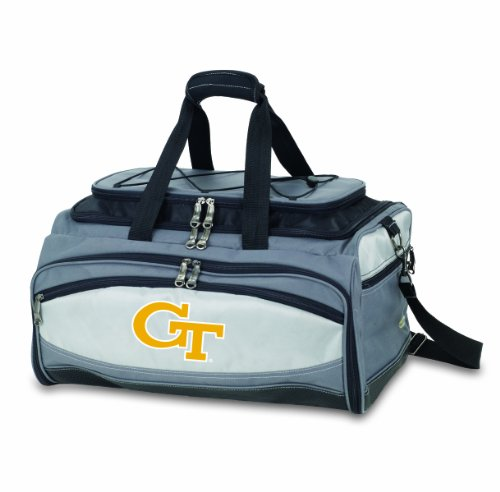 NCAA Georgia Tech Yellow Jackets Buccaneer Tailgating Cooler with Grill by PICNIC TIME