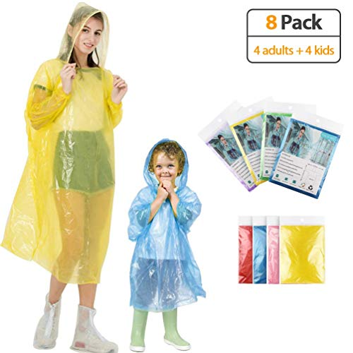 KMMIN Disposable Ponchos Emergency