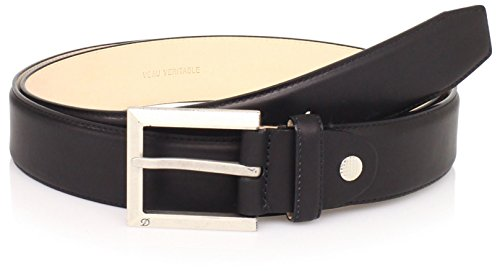 st-dupont-mens-adjustable-strap-belt-black-one-size