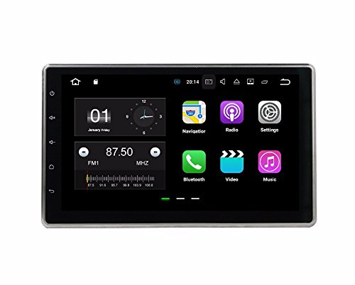 BoCID 2GB RAM Quad Core 10.1'' Android 7.1 Universal Car dvd player gps navigation With Car Radio Bluetooth WIFI 16GB ROM TV USB DVR by BoCID