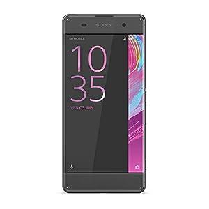 Sony 1303-0335 Xperia XA Dual-SIM Smartphone (16 GB, 12,7 cm (5 Zoll), HD Display, Android 6.0) graphit schwarz