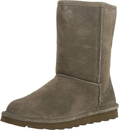 BEARPAW Women's Elle Short Winter Boot Olive Size - Olive El