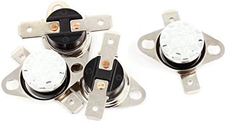 DealMux 4PCS KSD301 50C 122F NC termostato Temperatura interruptor de controlo térmica